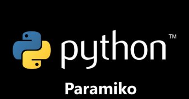 Python paramiko