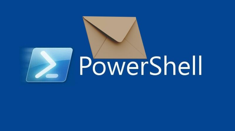 Powershell mail