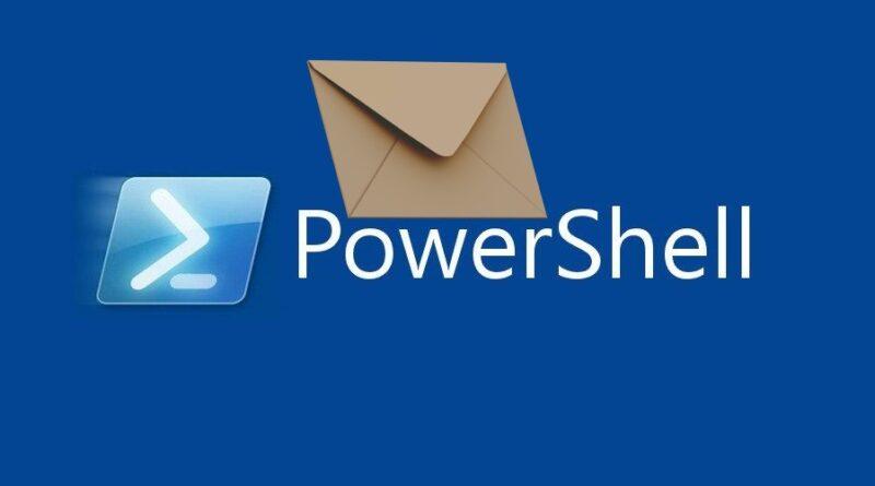 Powershell mail