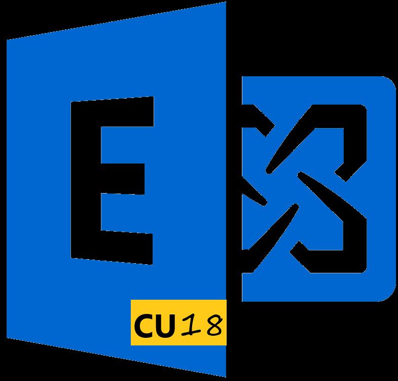 Microsoft Exchange Server 2016 Cumulative Update 18
