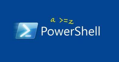 Powershell операторы сравнения