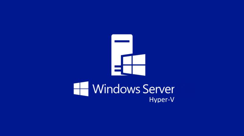 Hyper-V Server 2019